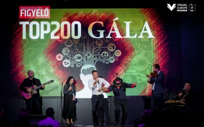 Figyelő TOP200 Gala in the Buda Castle Bazaar