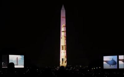 Holdra szállás 50. évforduló ünnepsége Amerikában