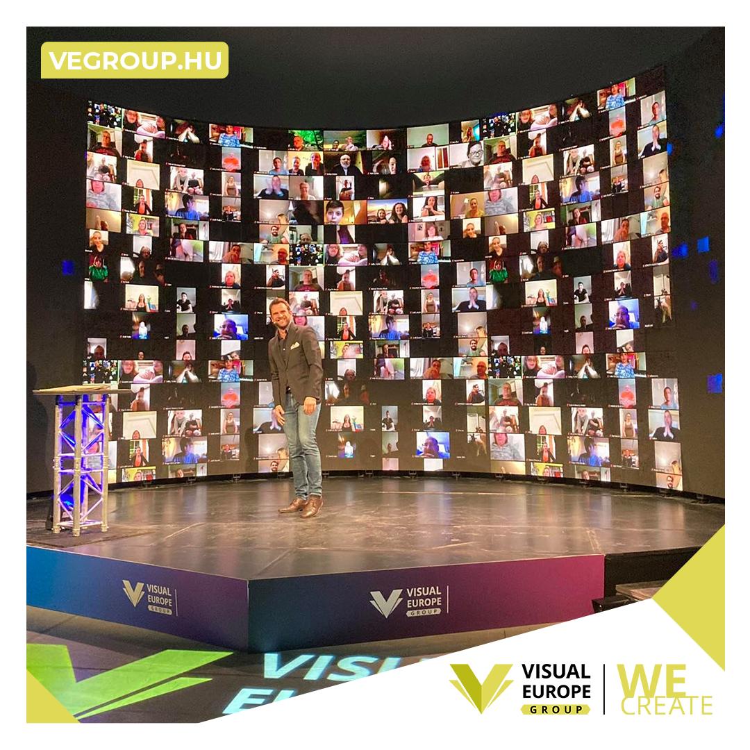 Sikeres stúdióközvetítés: a Visual Europe Production a megoldás!