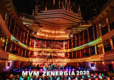MVM ZENERGIA – fényfestés