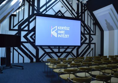 Kertész Imre Intézet – fix installációk
