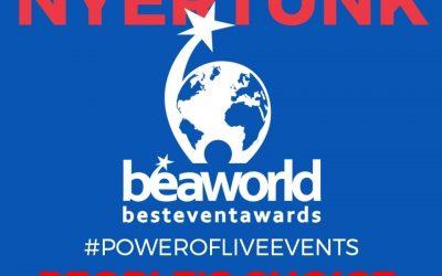 A #PowerOfLiveEvents kapta a világ legjobb rendezvényeinek idei közönségdíját!