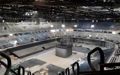 Innovatív digital signage és LED fal rendszert építünk Európa egyik legnagyobb kézilabda arénájában